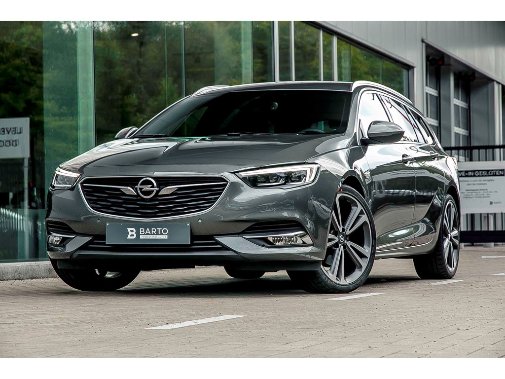 Opel-Insignia-Grijs-15b-165pk-Premium-Leder-20-wielen-OPC-line-360-camera-Head-up-display