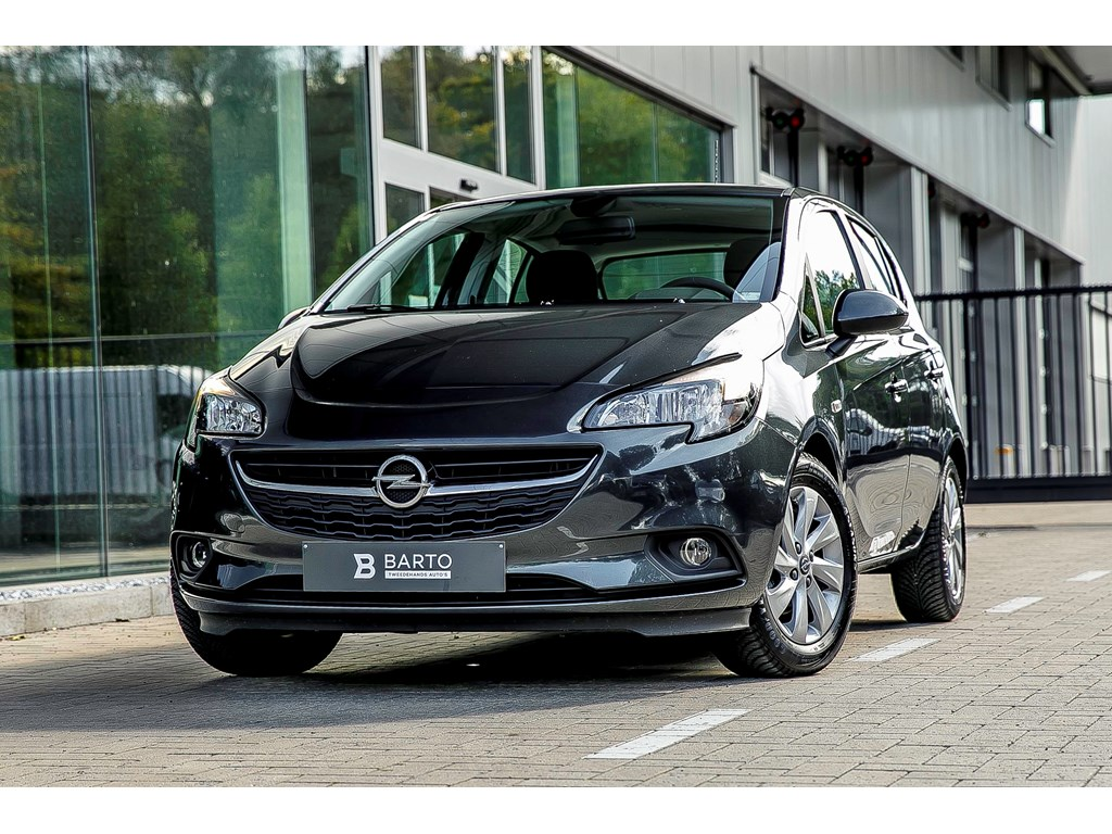 Opel-Corsa-Grijs-5-Deurs-12-Benz-70pk-Intellilink-Navigatie-Airco-
