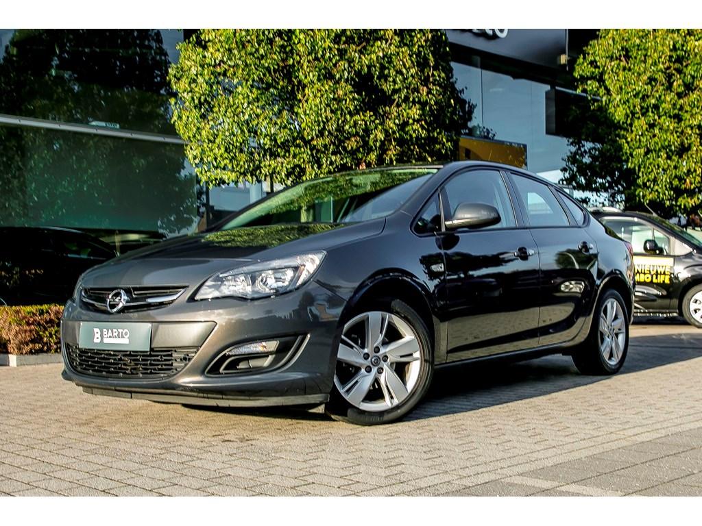 Tweedehands te koop: Opel Astra Anthraciet - Sports Sedan Enjoy 14 Benz 100pk - Airco - Park Pilot -