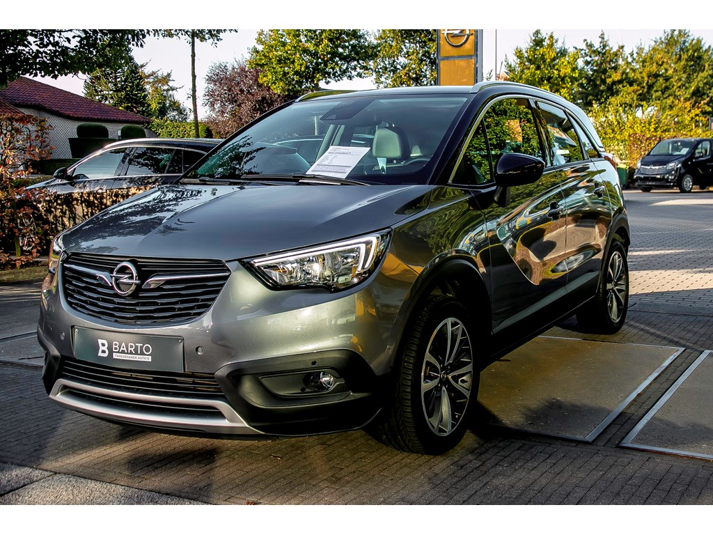 Tweedehands te koop: Opel Crossland X Grijs - 12 Turbo Benz 110pk - Innovation - Navigatie - Auto airco -