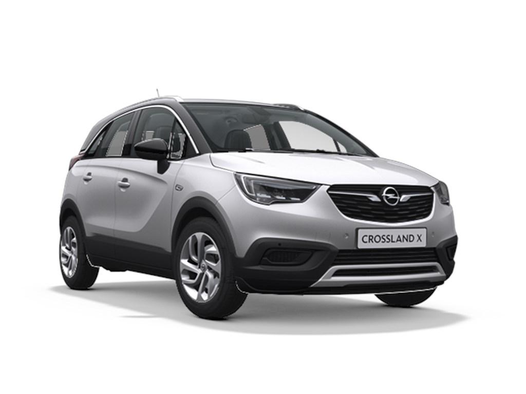 Tweedehands te koop: Opel Crossland X Zilver - Innovation 12 Turbo benz Automaat 6 StartStop - 110pk 81kw - Nieuw