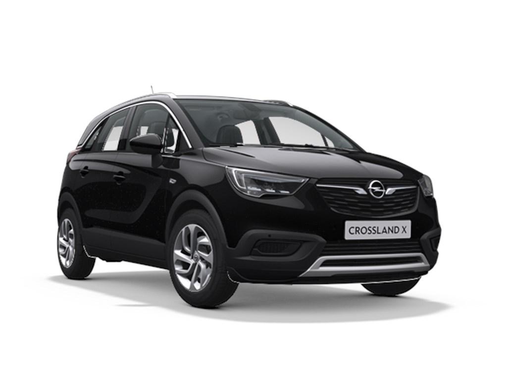 Tweedehands te koop: Opel Crossland X Zwart - Innovation 12 Turbo benz Automaat 6 StartStop - 110pk 81kw - Nieuw