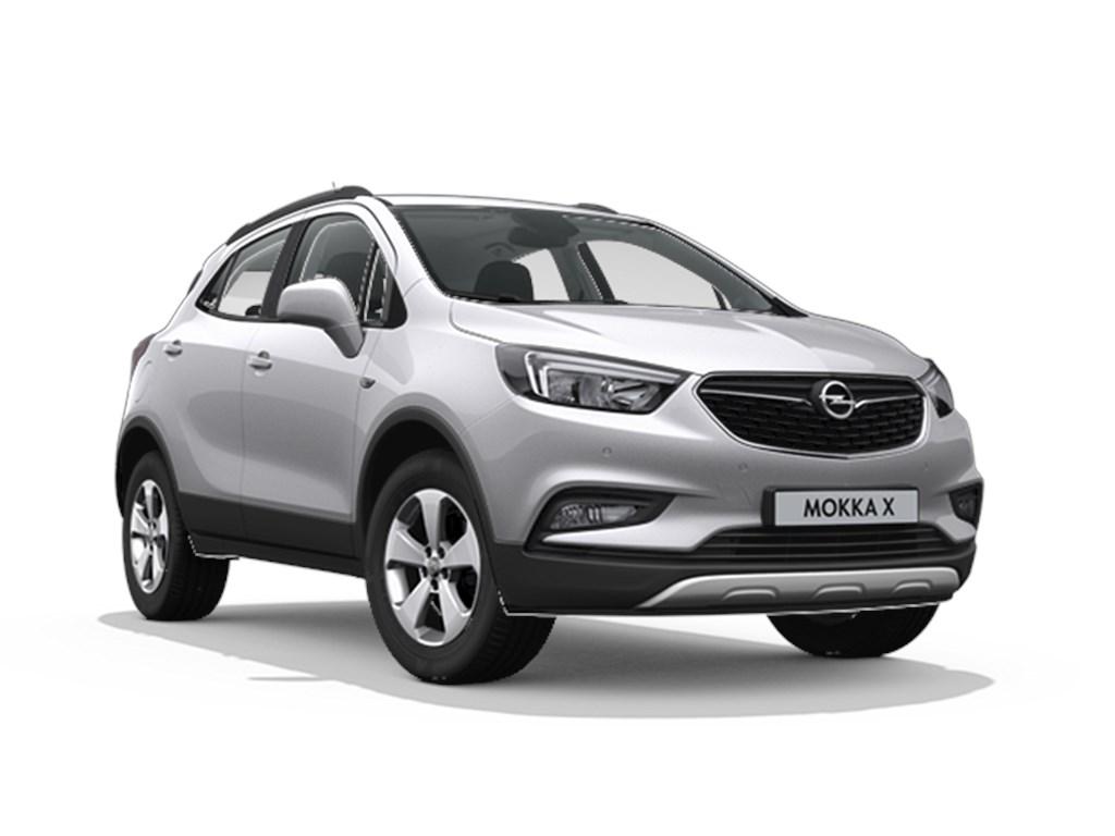 Tweedehands te koop: Opel Mokka Zilver - Edition 14 Turbo benz Manueel 6 versnellingen StartStop - 120pk 88kw - Nieuw