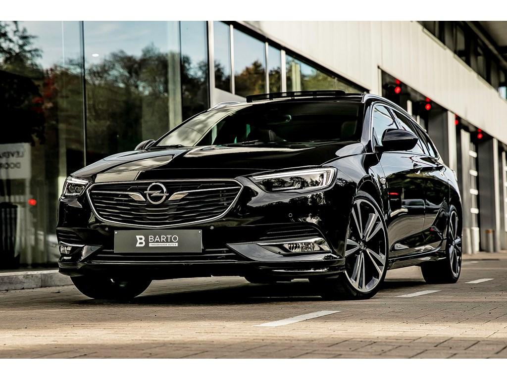 Tweedehands te koop: Opel Insignia Zwart - 20b 260pk - Automaat - OPCline - LEDmatrix - Camera -