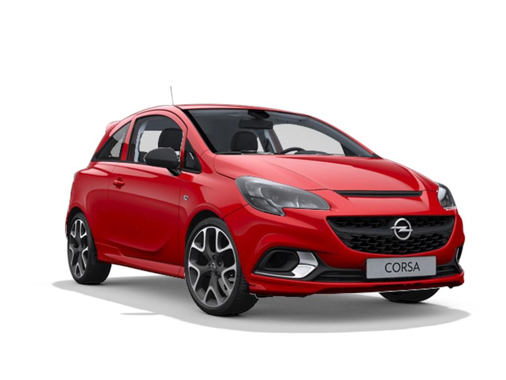 Tweedehands te koop: Opel Corsa Rood - 3-deurs GSI 14 Turbo Benz Manueel 6 versnellingen 150pk 110kw - Nieuw