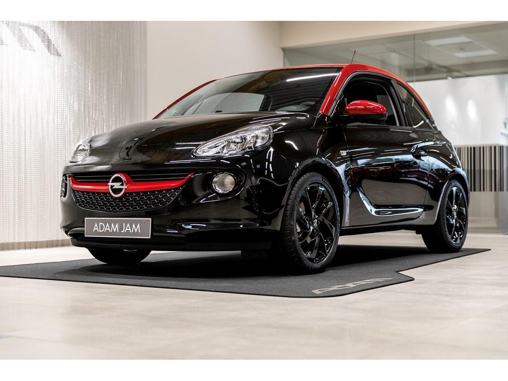 Opel-ADAM-Zwart-Unlimited-12-Benz-70pk-Manueel-5-versn-Nieuw
