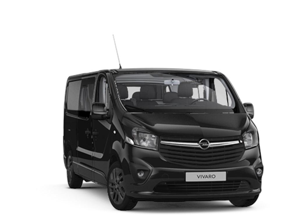 Tweedehands te koop: Opel Vivaro Zwart - Dub Cabine Black Ed L2H1 5pl - 16CDTi 146pk - 25901 excl BTW 31341 Euro Incl - Nieuw