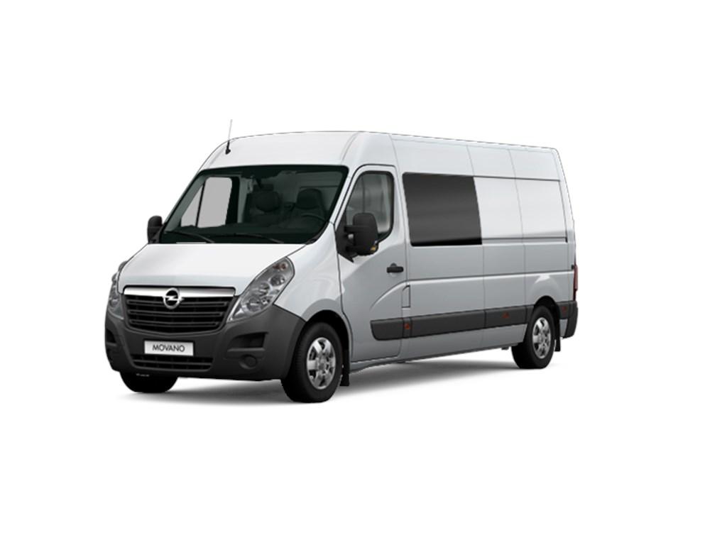 Tweedehands te koop: Opel Movano Zilver - Dub Cabine Cab L2H2 7pl FWD SRW - 23CDTi 145pk - 24015 excl BTW 29058 Euro Incl - Nieuw