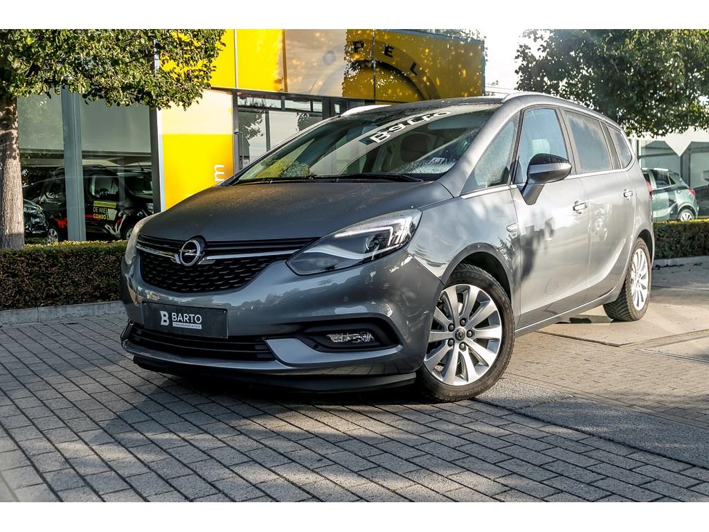 Tweedehands te koop: Opel Zafira Grijs - 16d 120pk Innovation - Navi - Camera - Trekhaak