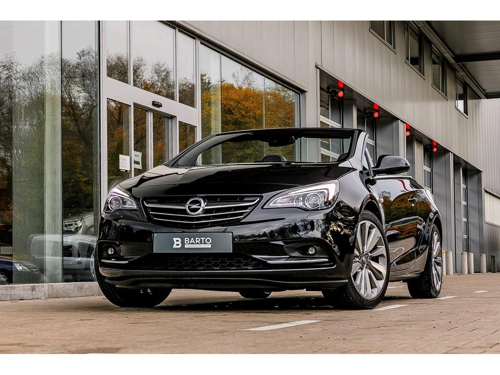 Opel-Cascada-Zwart-20d-165pk-Xenon-19-Alu-velgen-Leder-Camera-