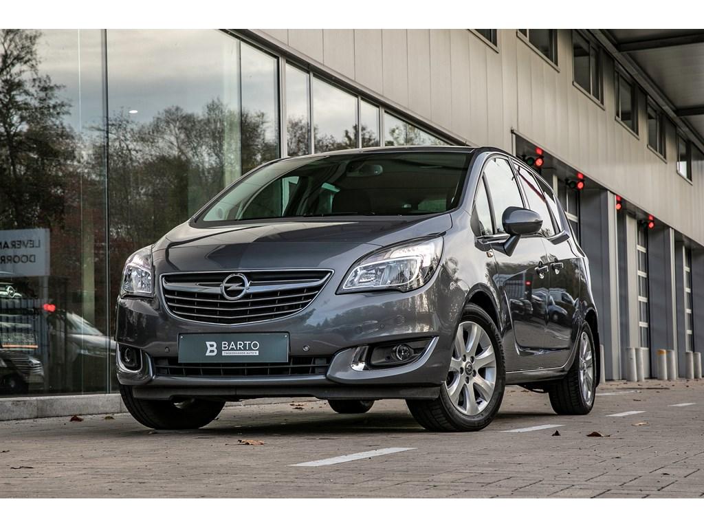 Tweedehands te koop: Opel Meriva Grijs - 16d 110pk - Cosmo - Navi - Camera - Auto Airco -