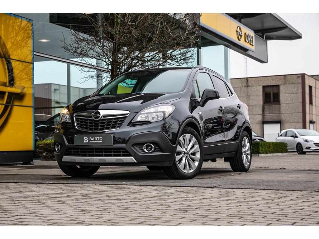 Tweedehands te koop: Opel Mokka Zwart - 14b 140pk - Leder - Navi - Verwarmde zetelsstuurwiel - Auto Airco -