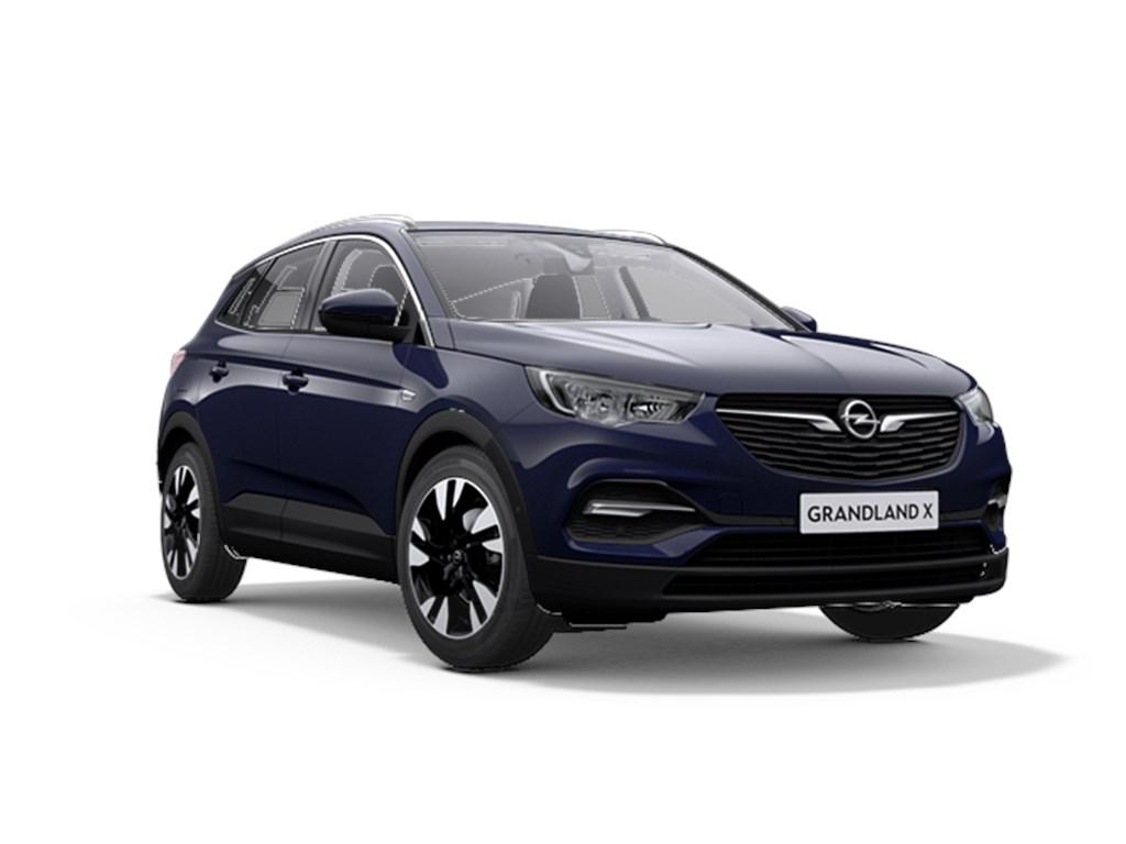 Tweedehands te koop: Opel Grandland X Purper - Innovation 12 Turbo benz Manueel 6 versnellingen StartStop - 130pk 96kw - Nieuw