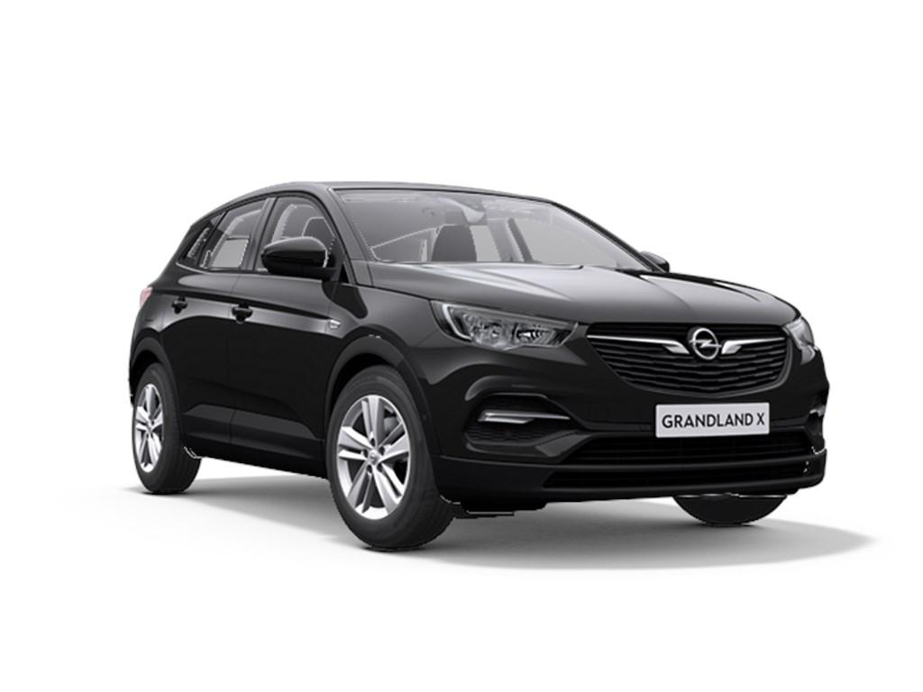 Tweedehands te koop: Opel Grandland X Zwart - Edition 12 Turbo benz Automaat 8 StartStop - 130pk 96kw - Nieuw