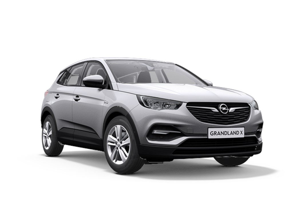Tweedehands te koop: Opel Grandland X Grijs - Edition 12 Turbo benz Manueel 6 StartStop - 130pk 96kw - Nieuw