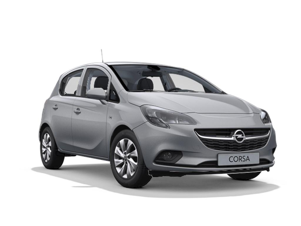 Tweedehands te koop: Opel Corsa Grijs - 5-deurs Enjoy 12 Benz 70pk - Nieuw
