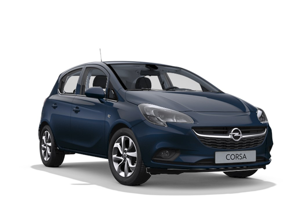 Tweedehands te koop: Opel Corsa Blauw - 5-deurs Cosmo 12 Benz 70pk - Nieuw