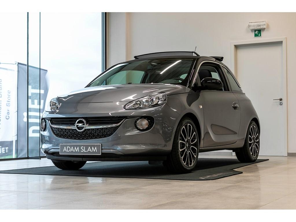 Tweedehands te koop: Opel ADAM Grijs - Glam 12 Benz 70pk - Manueel 5 versn - Nieuw