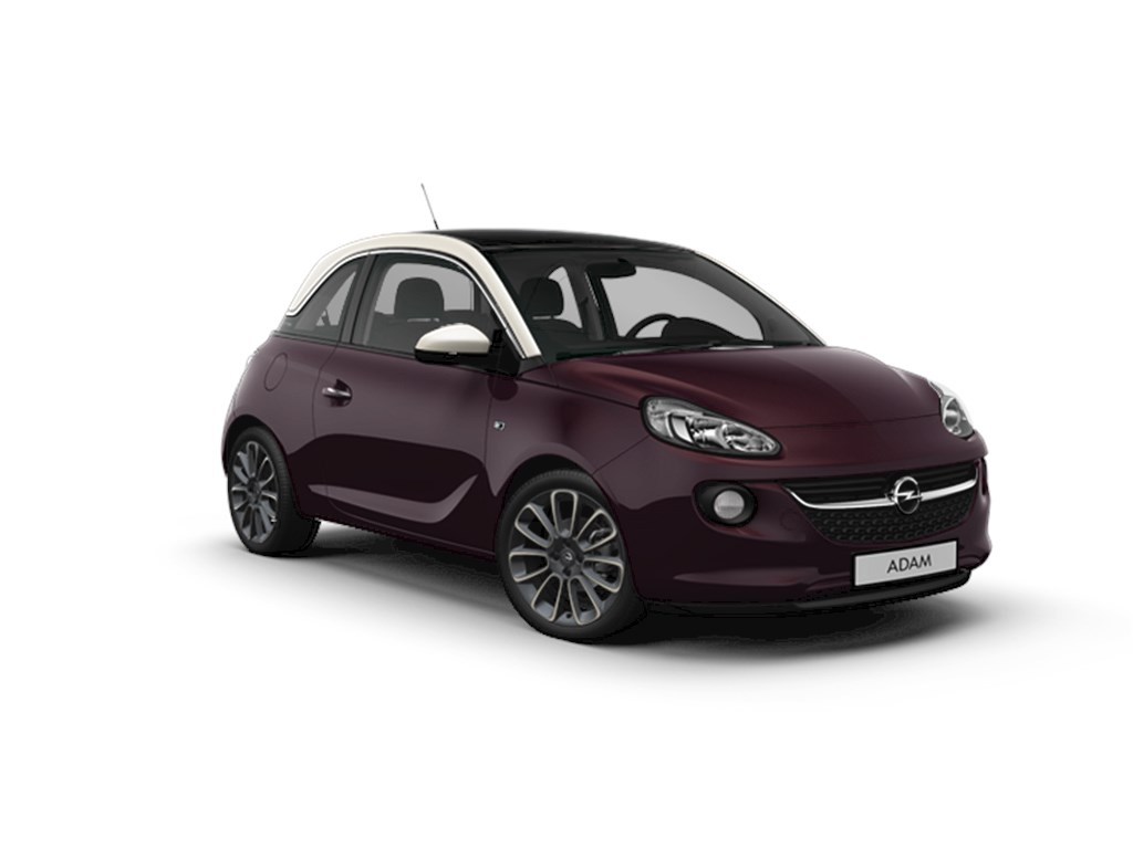 Tweedehands te koop: Opel ADAM Purper - Glam 12 Benz 70pk - Manueel 5 versn - Nieuw