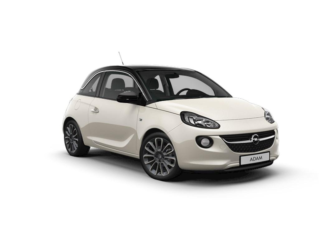 Tweedehands te koop: Opel ADAM Wit - Unlimited 12 Benz 70pk - Manueel 5 versn - Nieuw