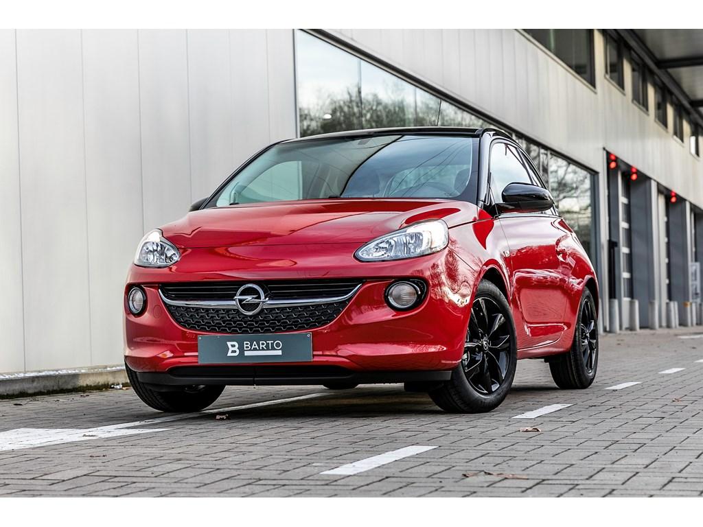 Tweedehands te koop: Opel ADAM Rood - Jam 12 Benz 70pk - Manueel 5 versn - Nieuw