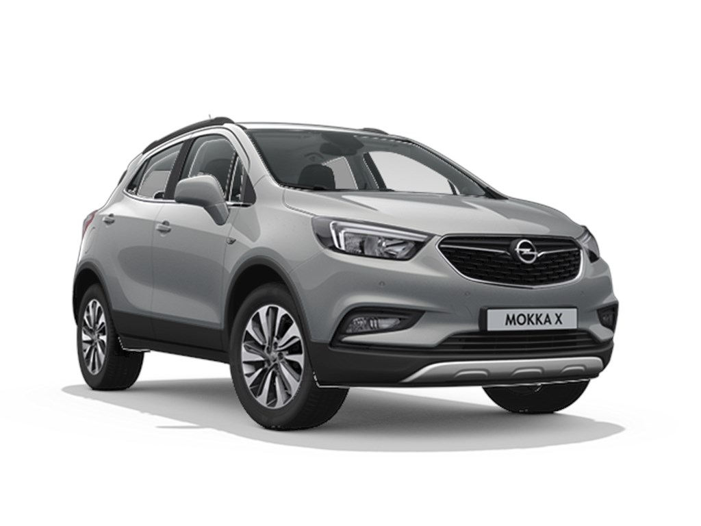 Tweedehands te koop: Opel Mokka X Grijs - Design Line 14 Turbo benz Manueel 6 versnellingen StartStop - 120pk 88kw - Nieuw