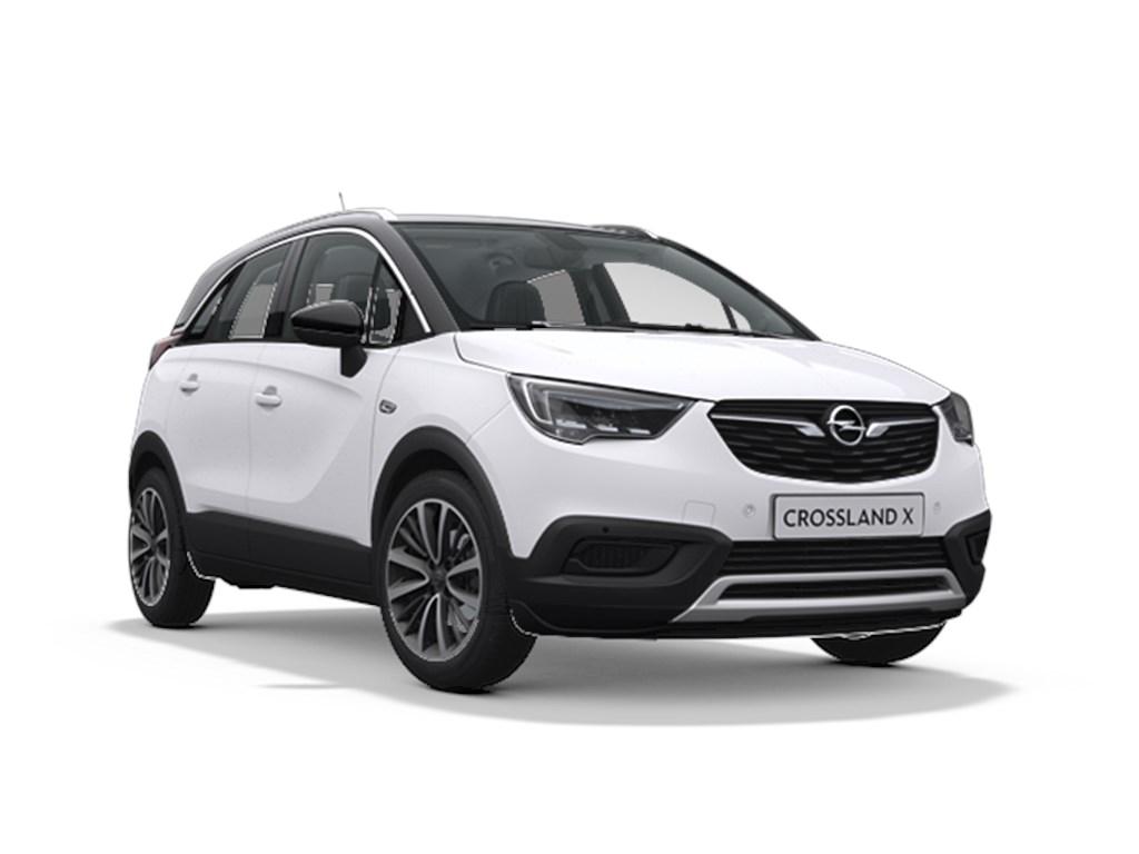 Tweedehands te koop: Opel Crossland X Wit - Innovation 12 Turbo benz Manueel 6 StartStop - 110pk 81kw - Nieuw