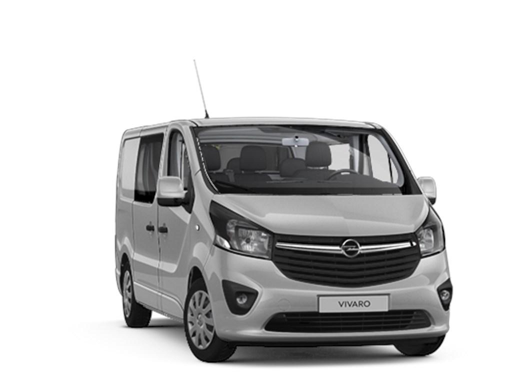 Tweedehands te koop: Opel Vivaro Zilver - Dub Cabine Sportive L1H1 5pl - 16CDTi 125pk - 21483 excl BTW 25995 Euro Incl - Nieuw