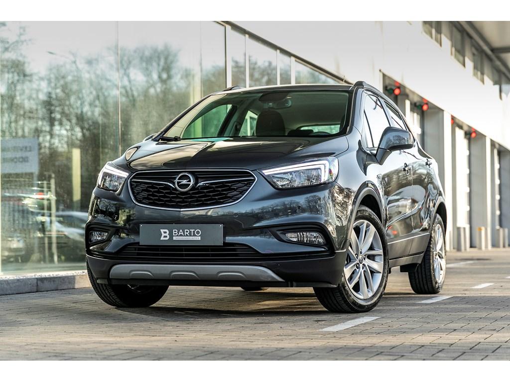 Tweedehands te koop: Opel Mokka Grijs - 16b 115pk - Navi - Parkeersens - Auto lichten - Regensens -