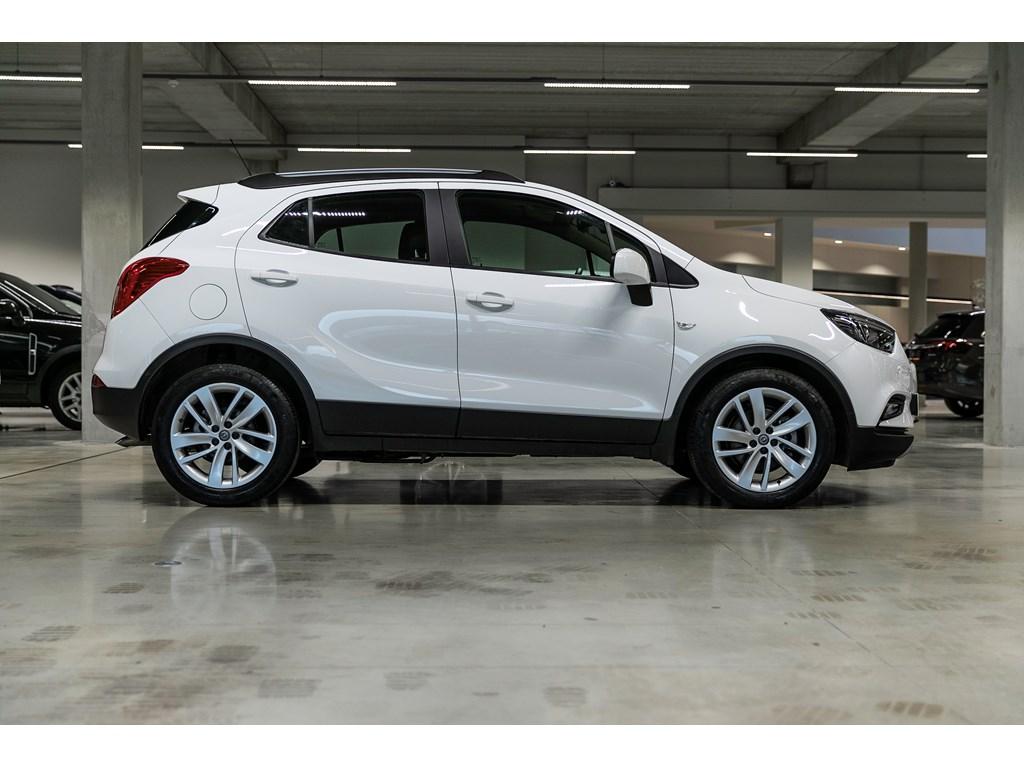 Tweedehands te koop: Opel Mokka Wit - 16b 115pk - Navi - Parkeersens - Auto lichten - Regensens -
