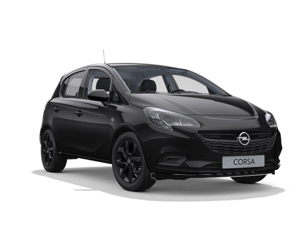 Tweedehands te koop: Opel Corsa Zwart - 5-deurs Black Edition 12 Benz 70pk - Nieuw