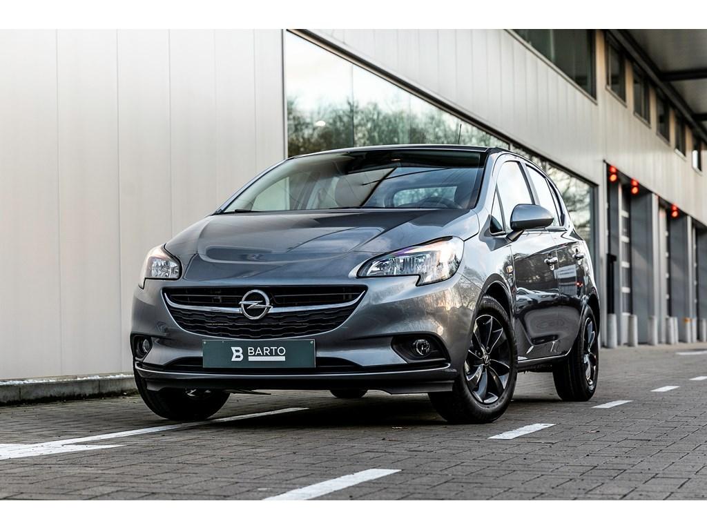Opel-Corsa-Grijs-5-deurs-120-Years-Edition-14-Benz-Automaat-90pk-Nieuw