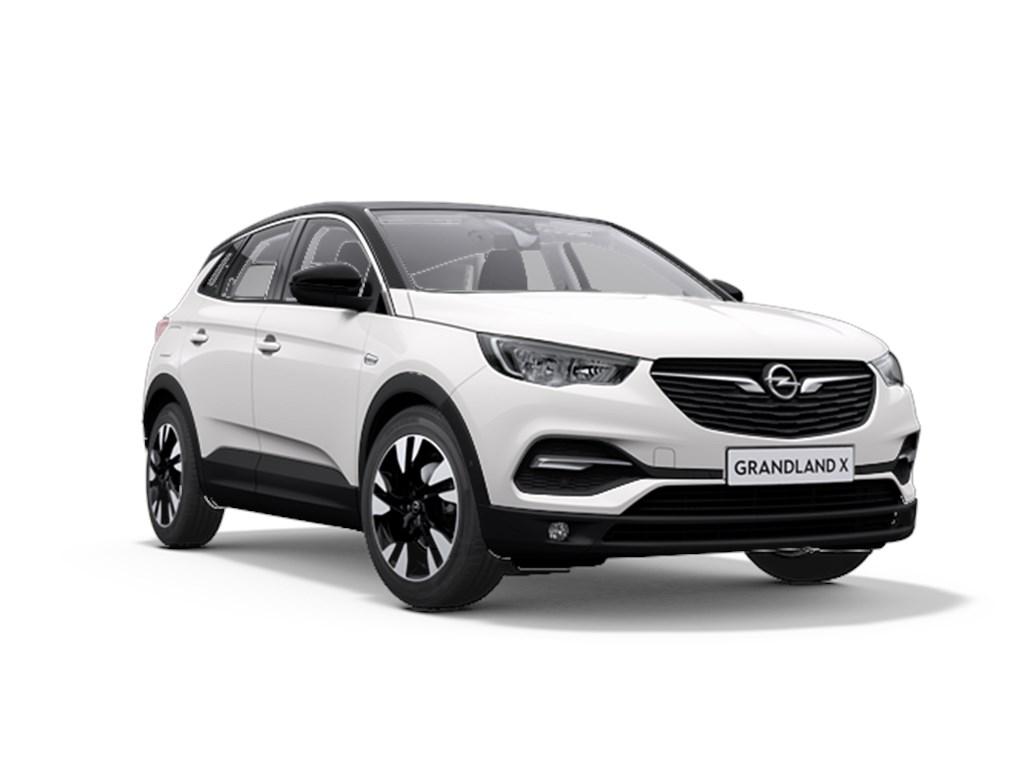 Tweedehands te koop: Opel Grandland X Wit - Innovation 12 Turbo benz Manueel 6 versnellingen StartStop - 130pk 96kw - Nieuw