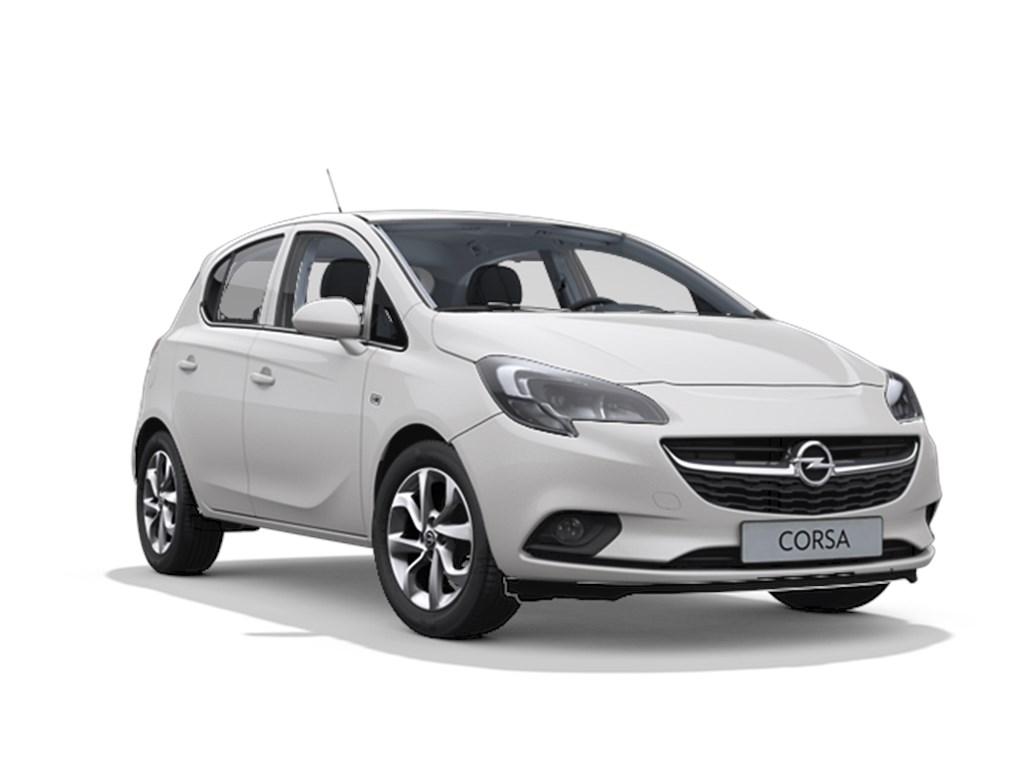 Tweedehands te koop: Opel Corsa Wit - 5-deurs Cosmo 14 Benz 90pk - AUTOMAAT - Nieuw