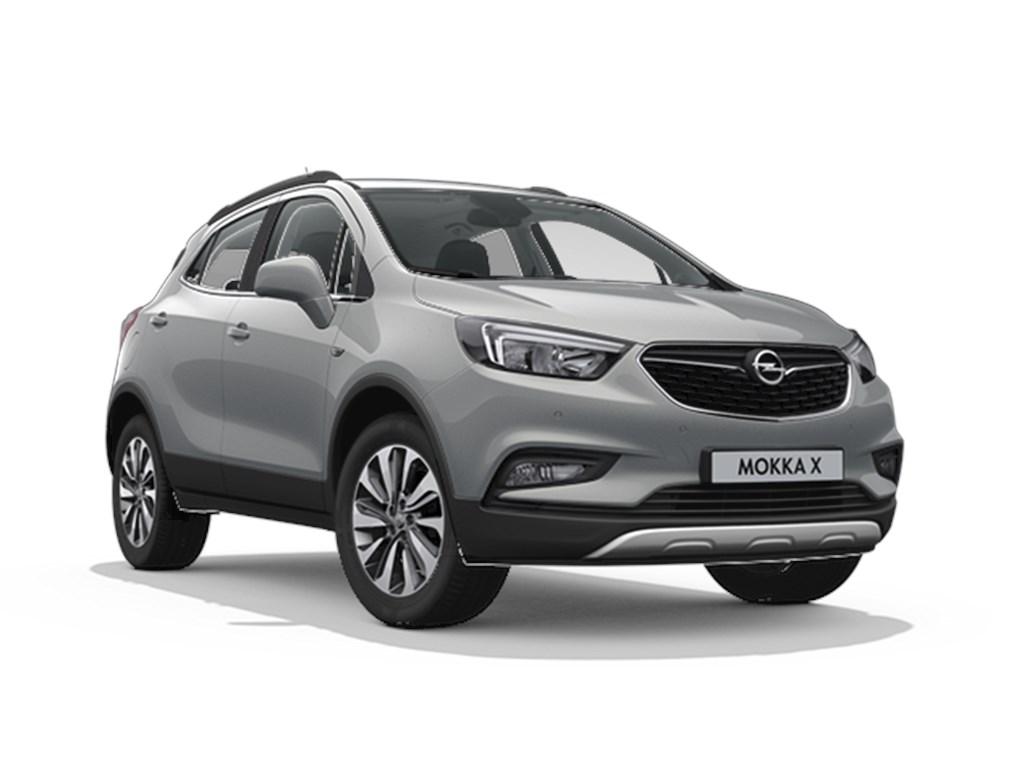 Tweedehands te koop: Opel Mokka Grijs - Design Line 14 Turbo benz Automaat 6 - 140pk 103kw - Nieuw