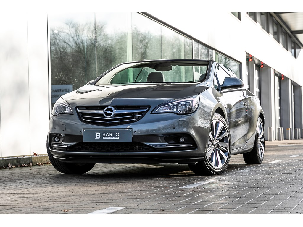 Tweedehands te koop: Opel Cascada Grijs - 14b 140pk - 19 BiColor - Camera - Xenon - Auto Airco