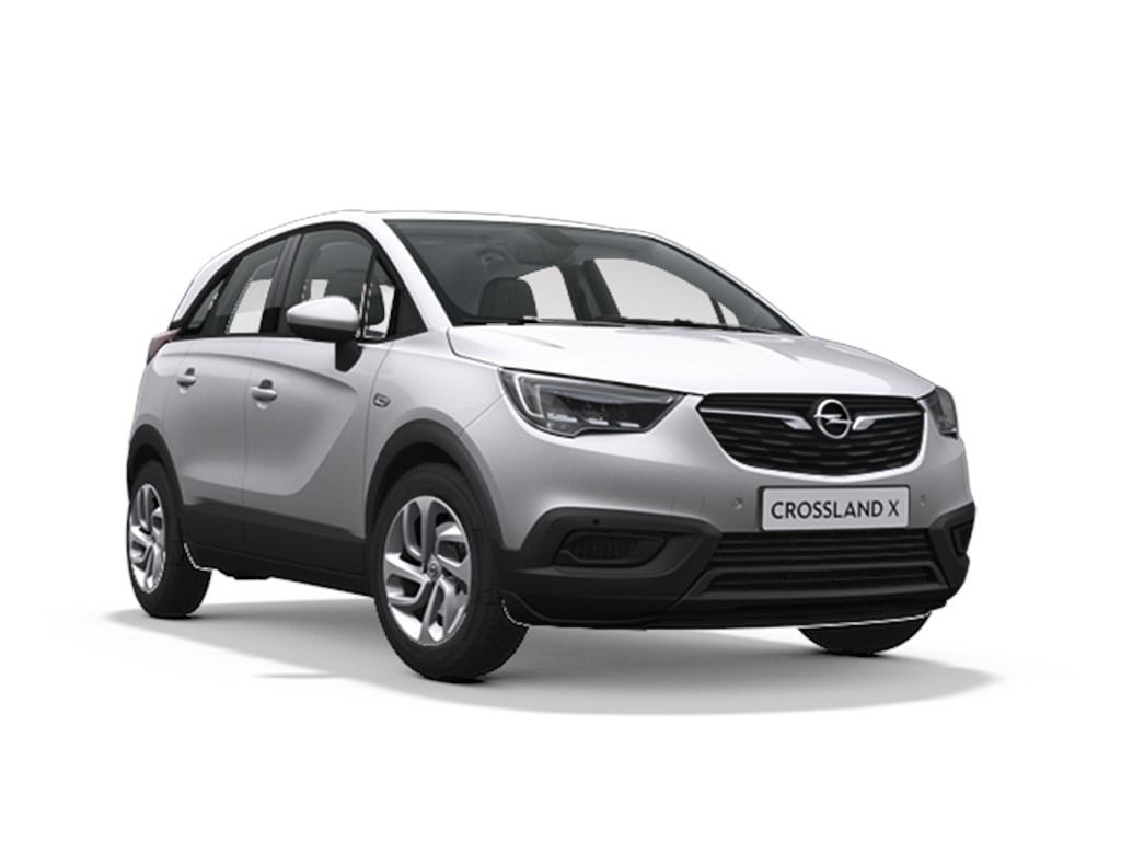 Tweedehands te koop: Opel Crossland X Zilver - Edition 12 Turbo benz Automaat 6 StartStop - 110pk 81kw - Nieuw