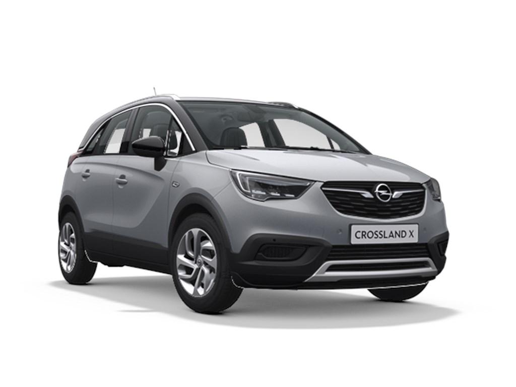 Tweedehands te koop: Opel Crossland X Grijs - Innovation 12 Turbo benz Automaat 6 StartStop - 110pk 81kw - Nieuw