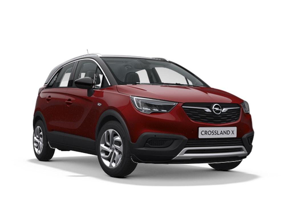 Tweedehands te koop: Opel Crossland X Bordeaux - Innovation 12 Turbo benz Manueel 6 versnellingen StartStop - 110pk 81kw - Nieuw