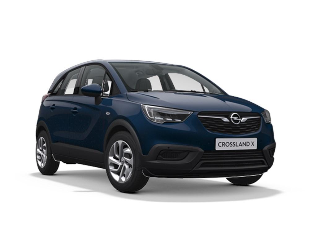 Tweedehands te koop: Opel Crossland X Blauw - Edition 12 Turbo benz Manueel 6 StartStop - 110pk 81kw - Nieuw