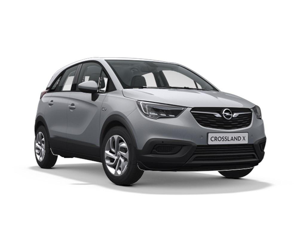 Tweedehands te koop: Opel Crossland X Grijs - Edition 12 Turbo benz Automaat 6 StartStop - 110pk 81kw - Nieuw