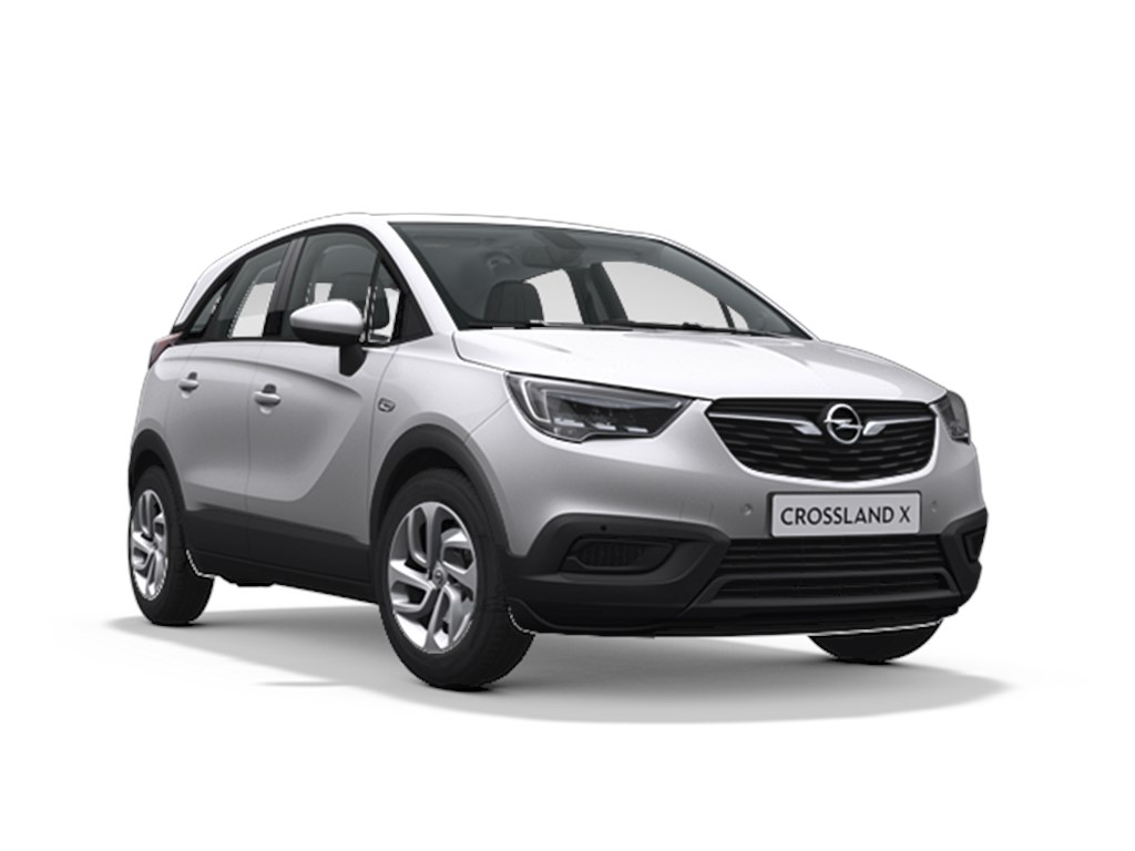 Tweedehands te koop: Opel Crossland X Zilver - Edition 12 Benz Manueel 5 81pk 60kw - Nieuw