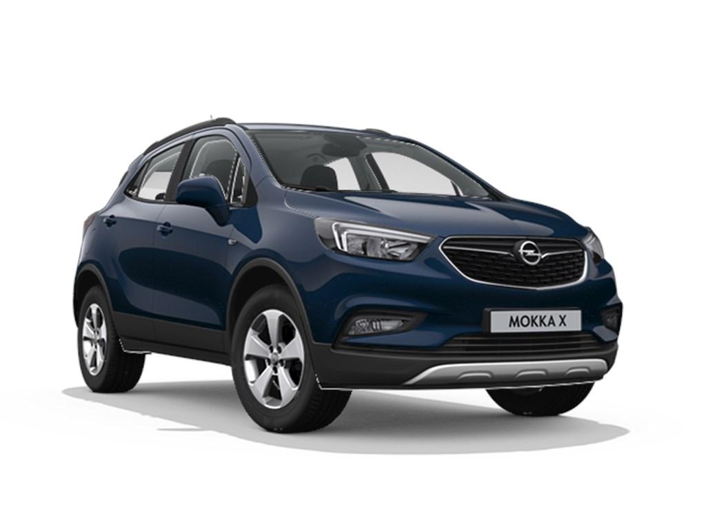 Tweedehands te koop: Opel Mokka Blauw - Edition 14 Turbo benz Manueel 6 versnellingen StartStop - 120pk 88kw - Nieuw