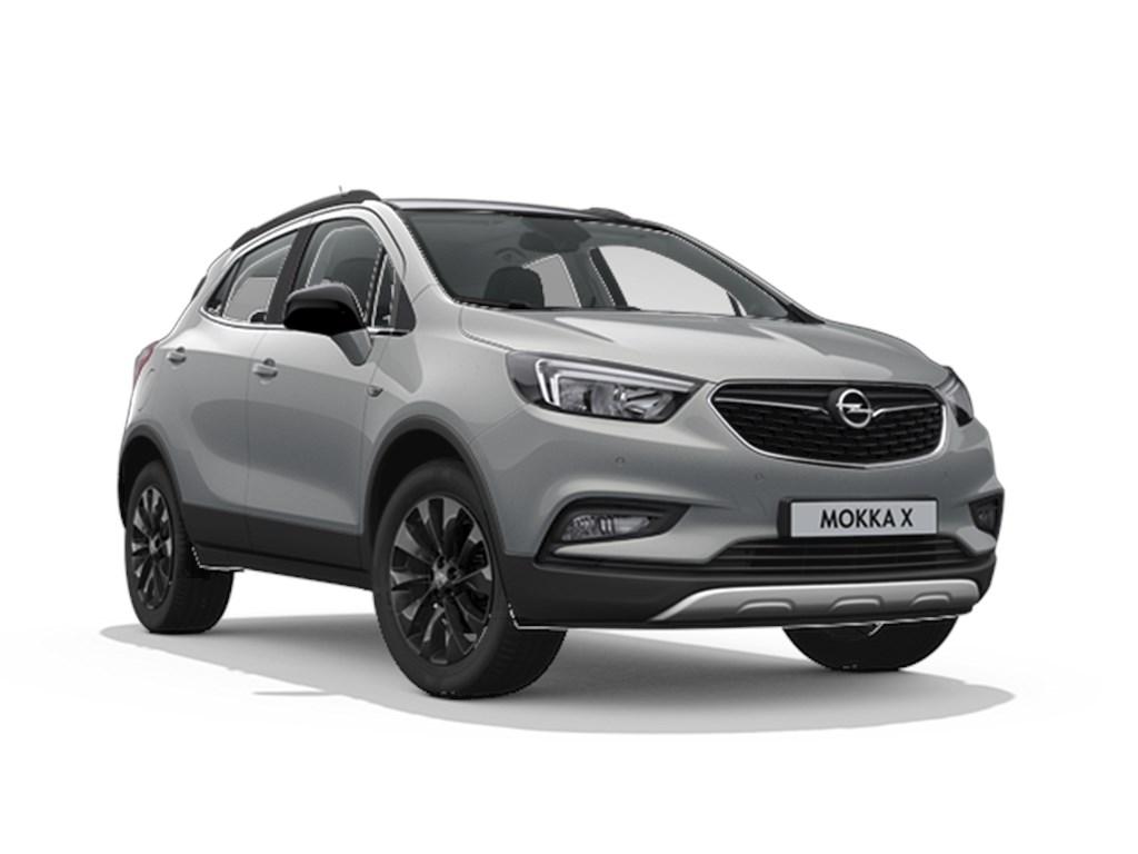 Tweedehands te koop: Opel Mokka Grijs - Design Line 14 Turbo benz Manueel 6 versnellingen StartStop - 120pk 88kw - Nieuw