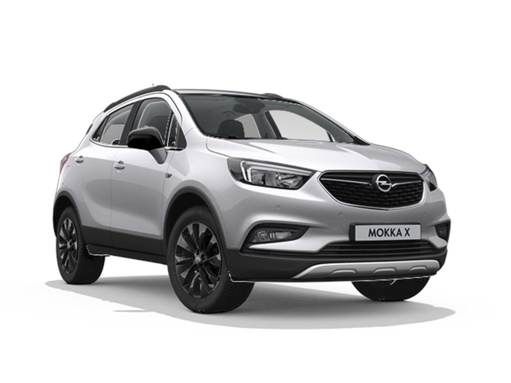 Tweedehands te koop: Opel Mokka Zilver - Design Line 14 Turbo benz Manueel 6 versnellingen StartStop - 120pk 88kw - Nieuw