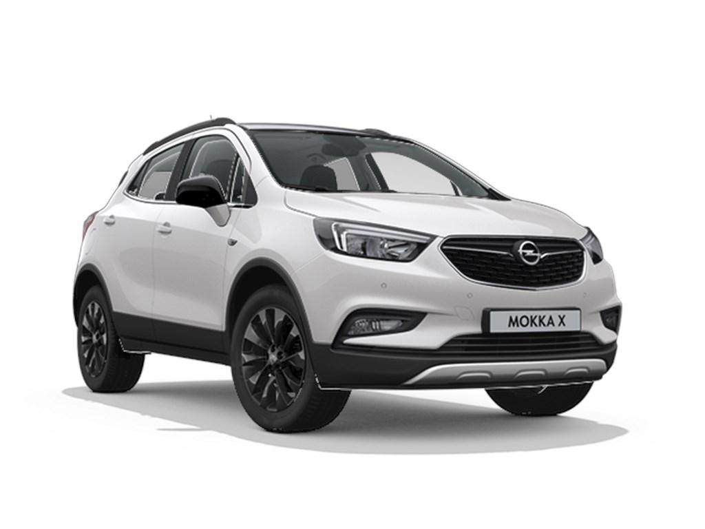 Tweedehands te koop: Opel Mokka Wit - Design Line 14 Turbo benz Manueel 6 versnellingen StartStop - 120pk 88kw - Nieuw