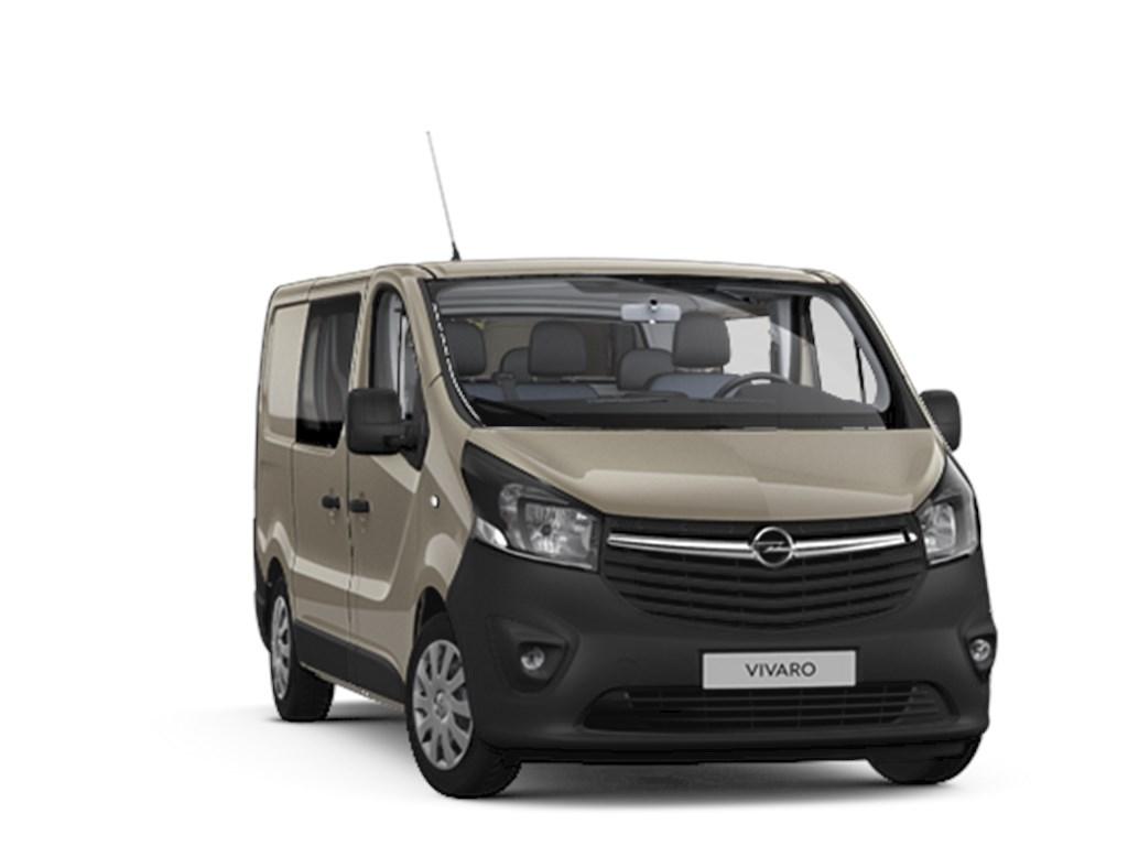 Tweedehands te koop: Opel Vivaro Bruin - Dubbele Cabine Edition L1H1 MTM27T 16 CDTi 125pk 92kw - Nieuw