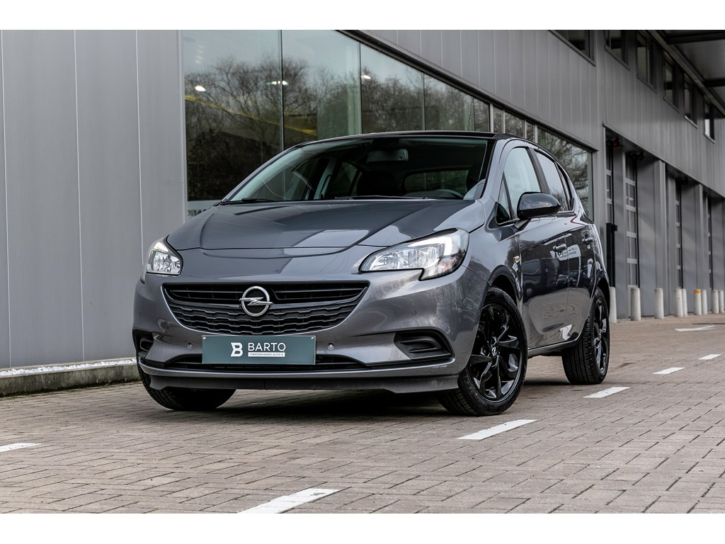 Tweedehands te koop: Opel Corsa Grijs - 10b 90pk - Parkeersens va - Intellilink - Airco - Bluetooth -