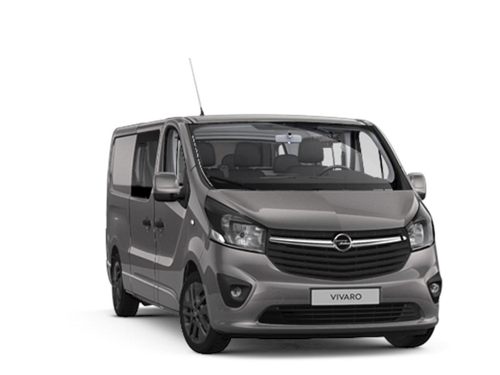 Tweedehands te koop: Opel Vivaro Grijs - Dub Cabine Black Ed L2H1 5pl - 16CDTi 146pk - 25757 excl BTW 31167 Euro Incl - Nieuw