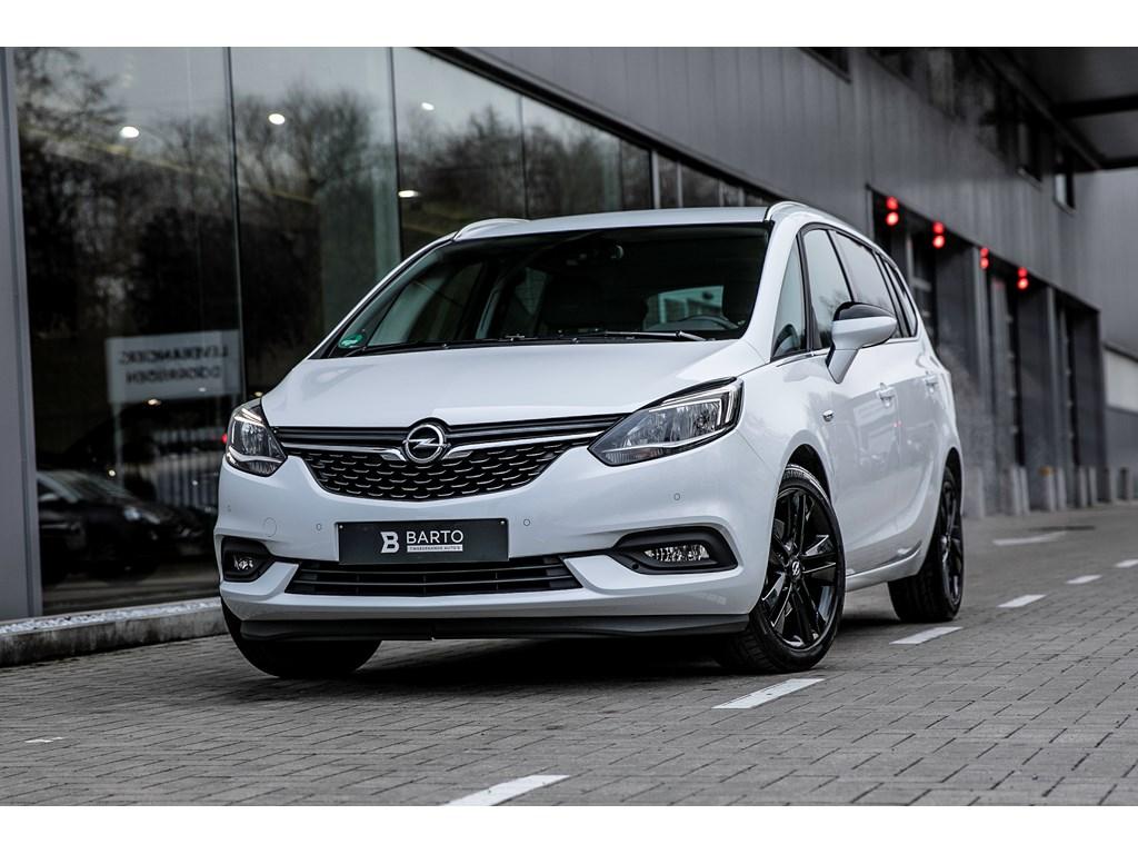 Tweedehands te koop: Opel Zafira Wit - 16 benz 170pk - AUTOMAAT - Camera - Navi - Trekhaak